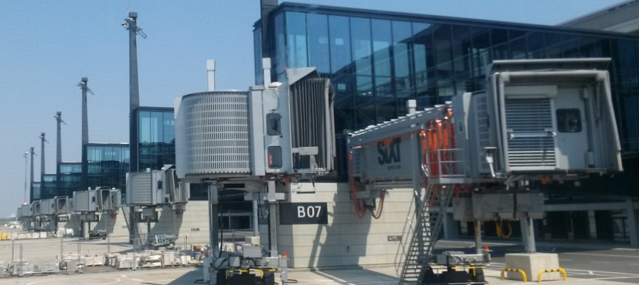 Wycieczka na budowę lotniska