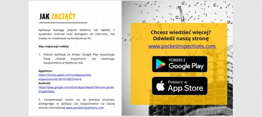 Aplikacja dla inżynierów