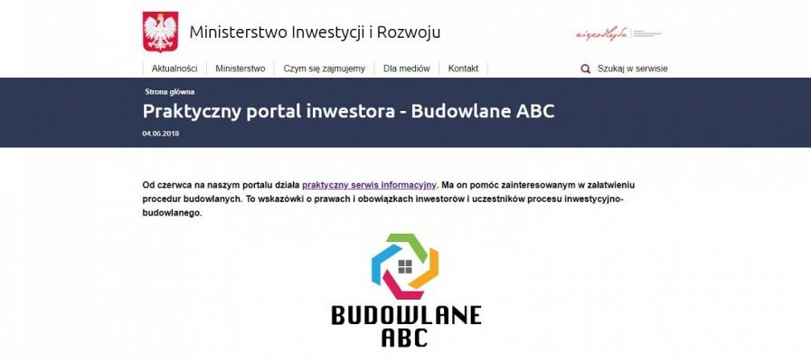 Praktyczny portal inwestora - Budowlane ABC