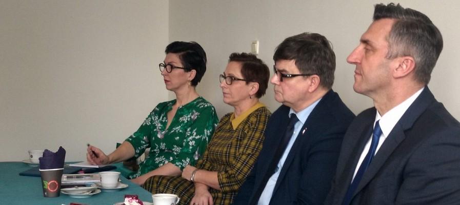 Spotkanie parlamentarzystów z władzami LOIIB